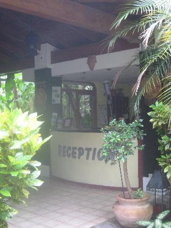 Hotel Villa Romantica: Reception Area
