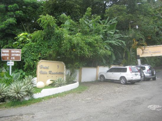 Hotel Villa Romantica: Main Entrance