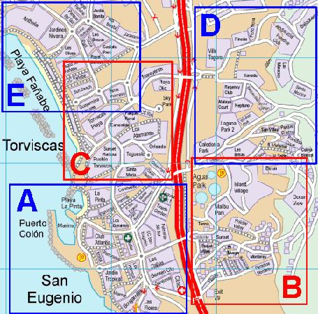 we are a short walk from these areas Picture of Carlos Costa
