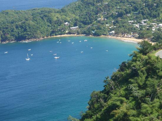 Sandy Point Beach Club: snorkeling bay