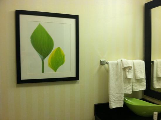Fairfield Inn & Suites Morgantown : bathroom