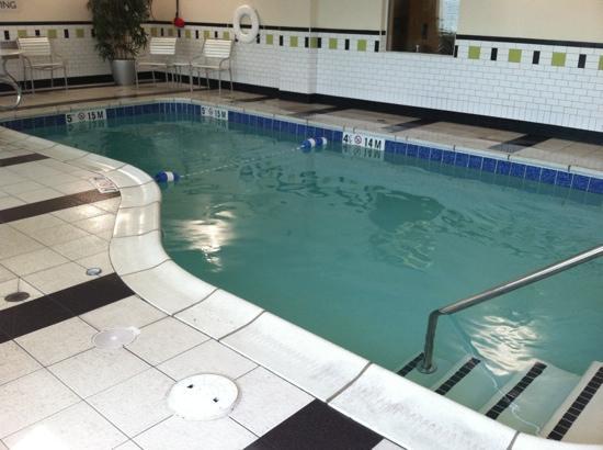 Fairfield Inn & Suites Morgantown: pool