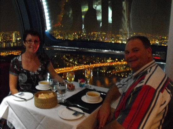 Sky Dining in Singapore Flyer - GreenHoliday: Dinner on Singapore Flyer