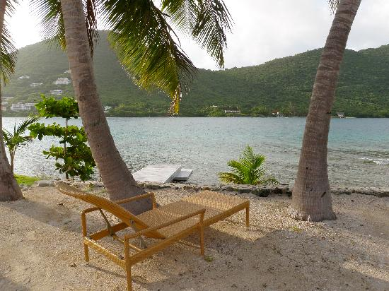 West End, Tortola: the best beach chairs!