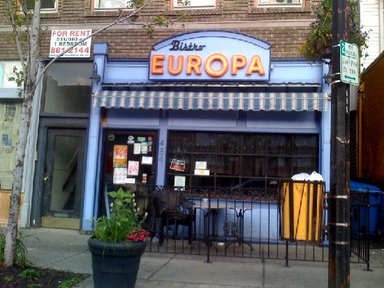 Bistro Europa on Elmwood Avenue