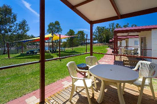 Luxury river view cabins picture of yarrawonga holiday for River view cabins