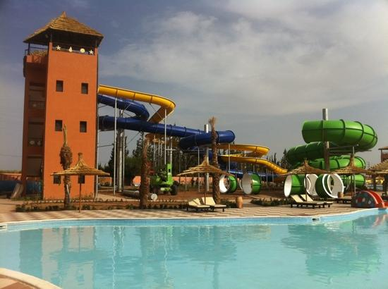 Be Live Family Aqua Fun Marrakech: slides