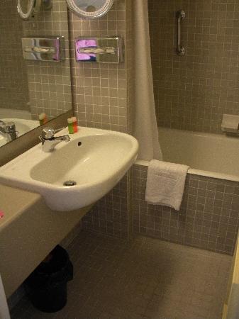 Bathroom With Door Open Toilet Is Inaccessible Have