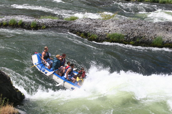 Sage Canyon River Company - Day Trips: Someone is going to get wet!