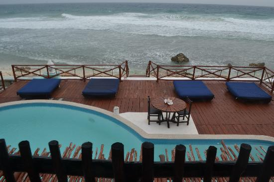 Casa Ixchel: View from the balcony