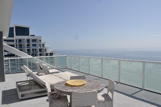 W Fort Lauderdale Our AMAZING Terrace