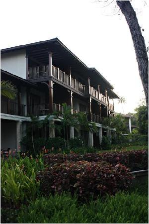 The St. Regis Bahia Beach Resort: The building where our room was.