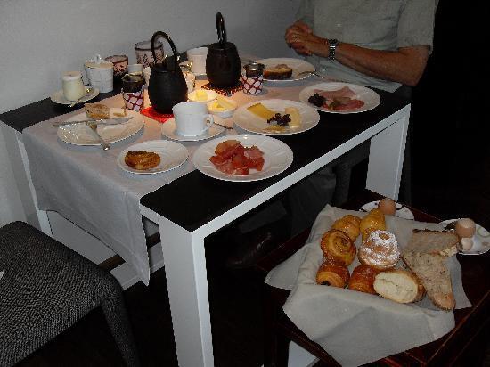 Hotel K : le petit déjeuner