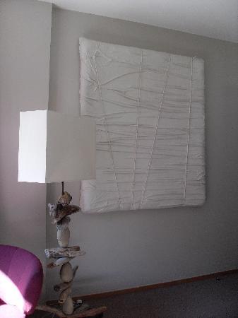 Hotel K : un aperçu de la décoration de la chambre