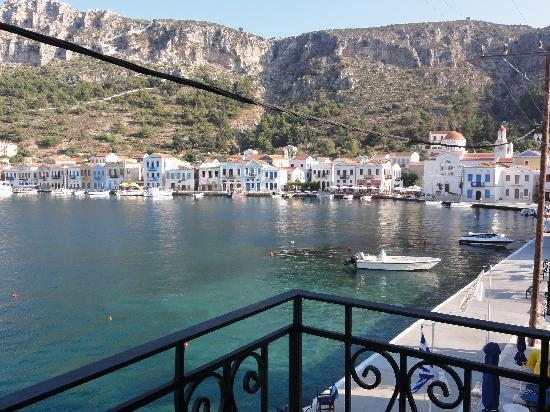 Hotel Kastellorizo: View from balcony