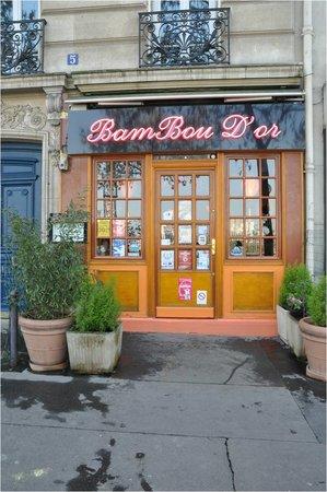 BAMBOU D'OR: facade restaurant