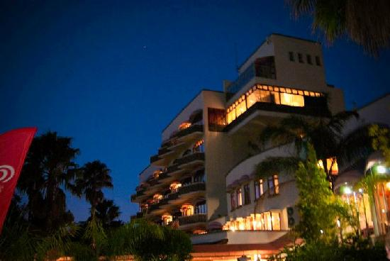 Montagu, South Africa: Hotel at night