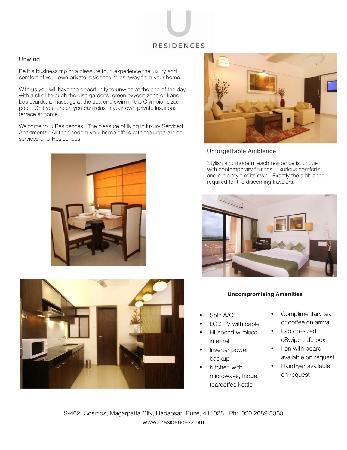U Residences Magarpatta City : Premium Category