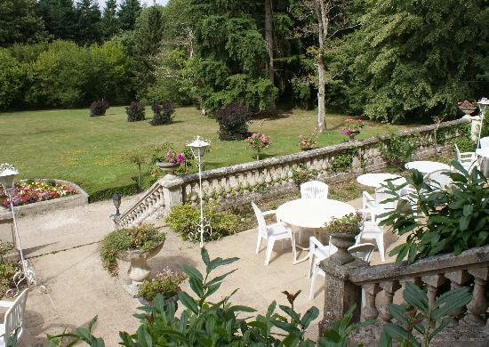 Le Manoir de la Fôret : Terrace view