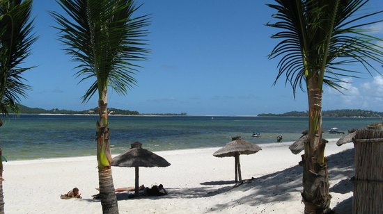 Xai-Xai, Mozambik: Beach and Lagoon