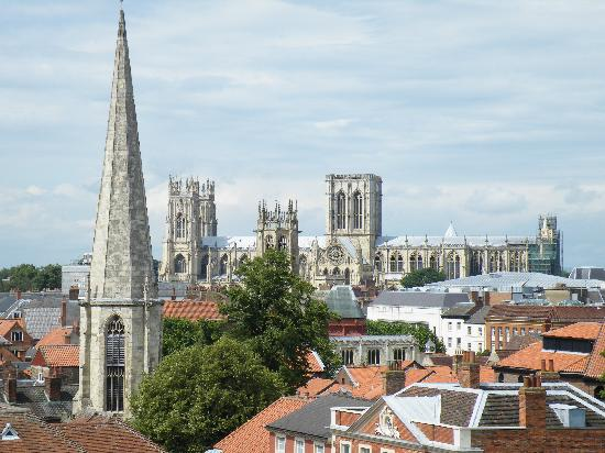 Clifford's Tower: View of York Minster.