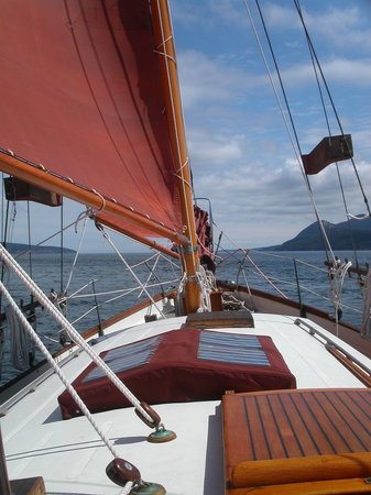 Schooners North: Catching the wind