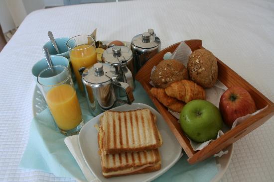 Casa Florina: Leider jeden Tag das selbe Frühstück