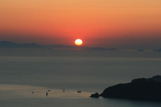 كازا فلورينا: Schöner Blick von der Terrasse