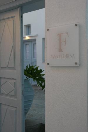 Casa Florina: Eingang