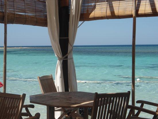 Goa Beach: La terrazza