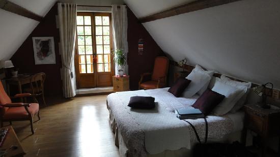 Domaine de Joreau : Superbe Chambre Saumur