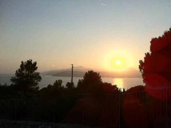 La Turistica : tramonto golfo