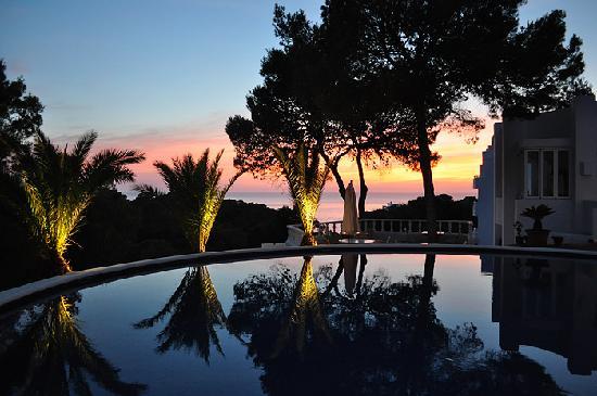 Hotel Village Ibiza: Sunset view