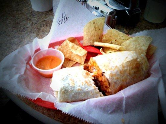Border Grill: Steak Border Burrito. Just awesome.