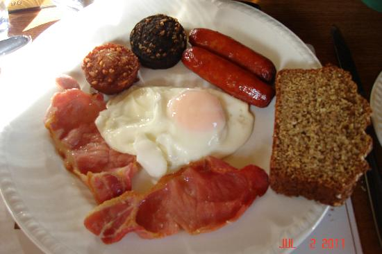 Tailors Lodge: Irish breakfast cooked to perfection