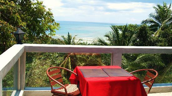 Baan Bon Kao, Koh Phangan : Seaside view
