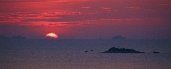Baan Bon Kao, Koh Phangan : Amazing Sunset view