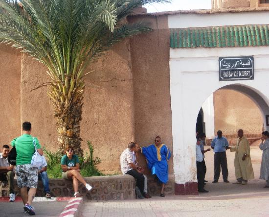 Ouarzazate, Marokko: kasbah de Taourirt
