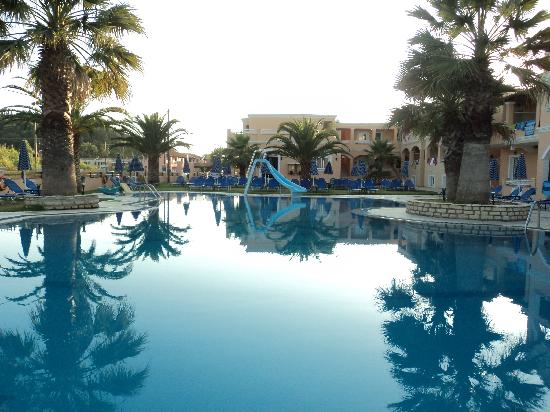 The Lagoon Hotel And Apartments Pool In Evening