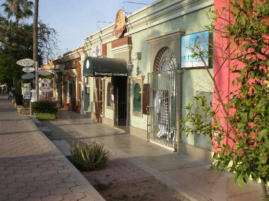 San Jose Del Cabo, Mexique : Main street San jose