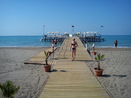 Baia Lara Hotel: The calm and breezy jetty, LUSH!