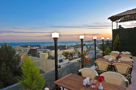 Albinas Hotel : roof