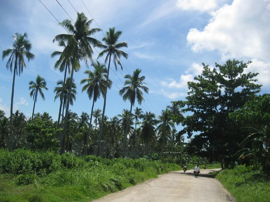 Samal Island, الفلبين: Samal streets