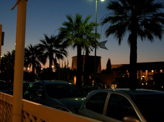 Caruso Restaurant Sa Coma : Evening view from the restaurant