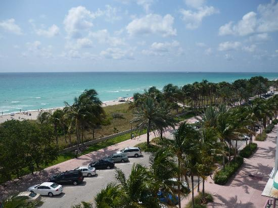Lexington Hotel - Miami Beach: vue sur ocean.