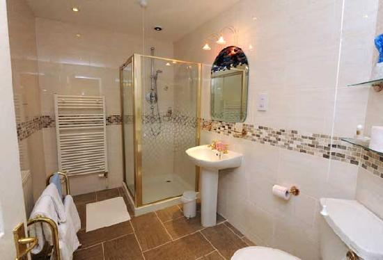 Whitehall Lodge : en-suite in the Master room.