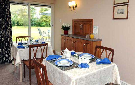 Whitehall Lodge : Breakfast room