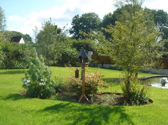 Whitehall Lodge : Gardens surround the lodge.
