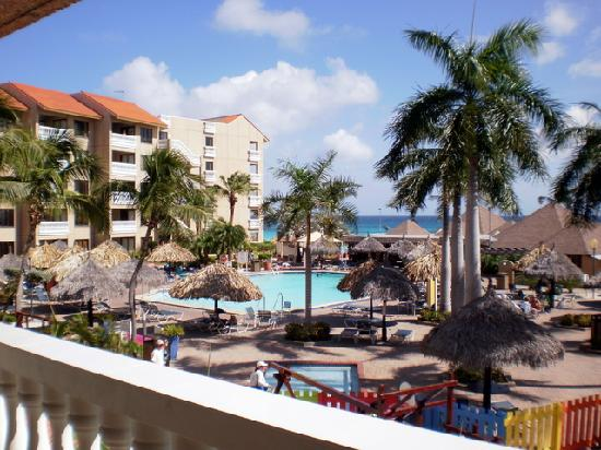 Casa Del Mar Beach Resort: View from our balcony.
