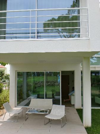 Onyria Marinha Edition Hotel & Thalasso: Desde el jardin trasero